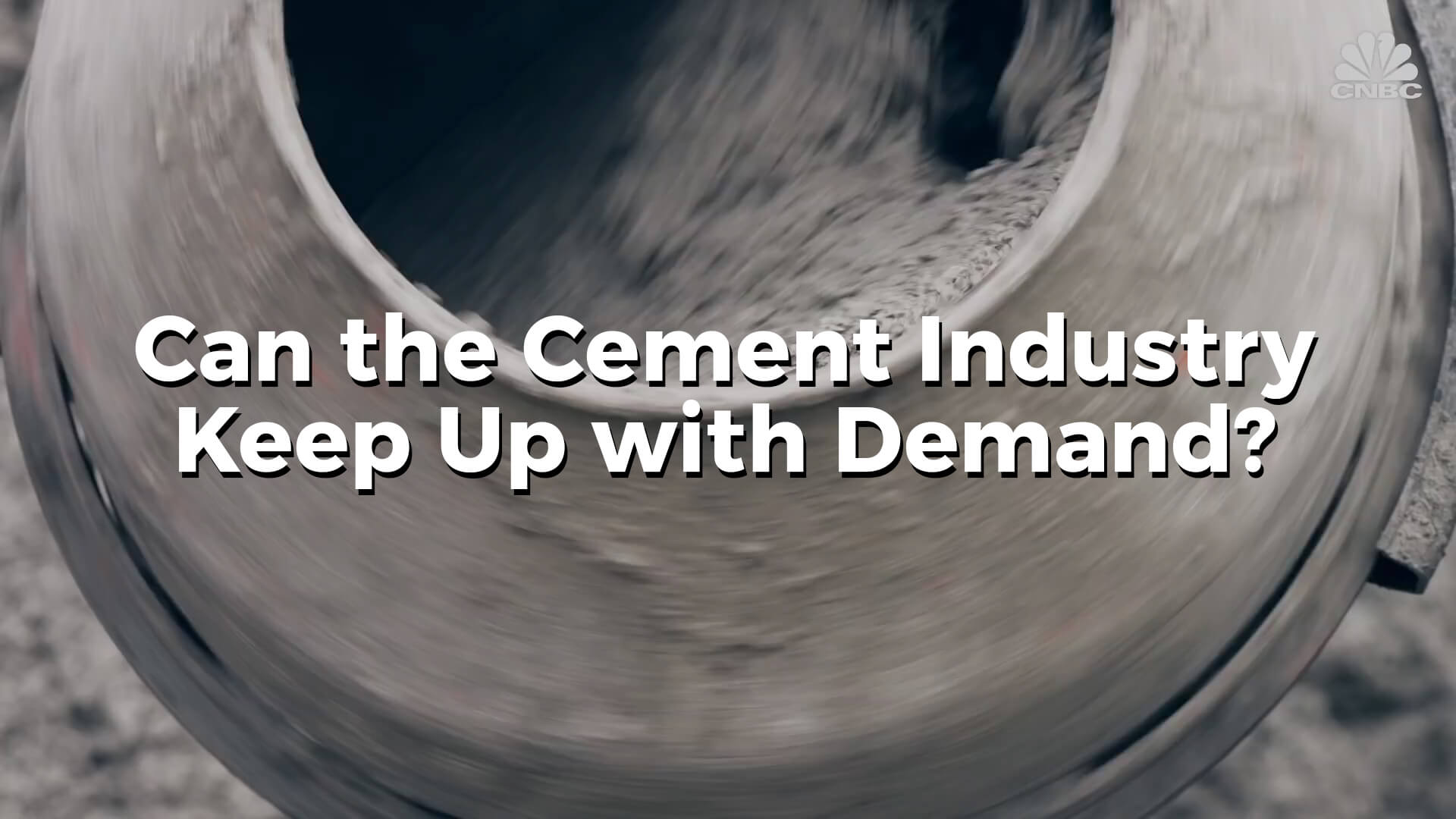Can The Cement Industry Keep Up